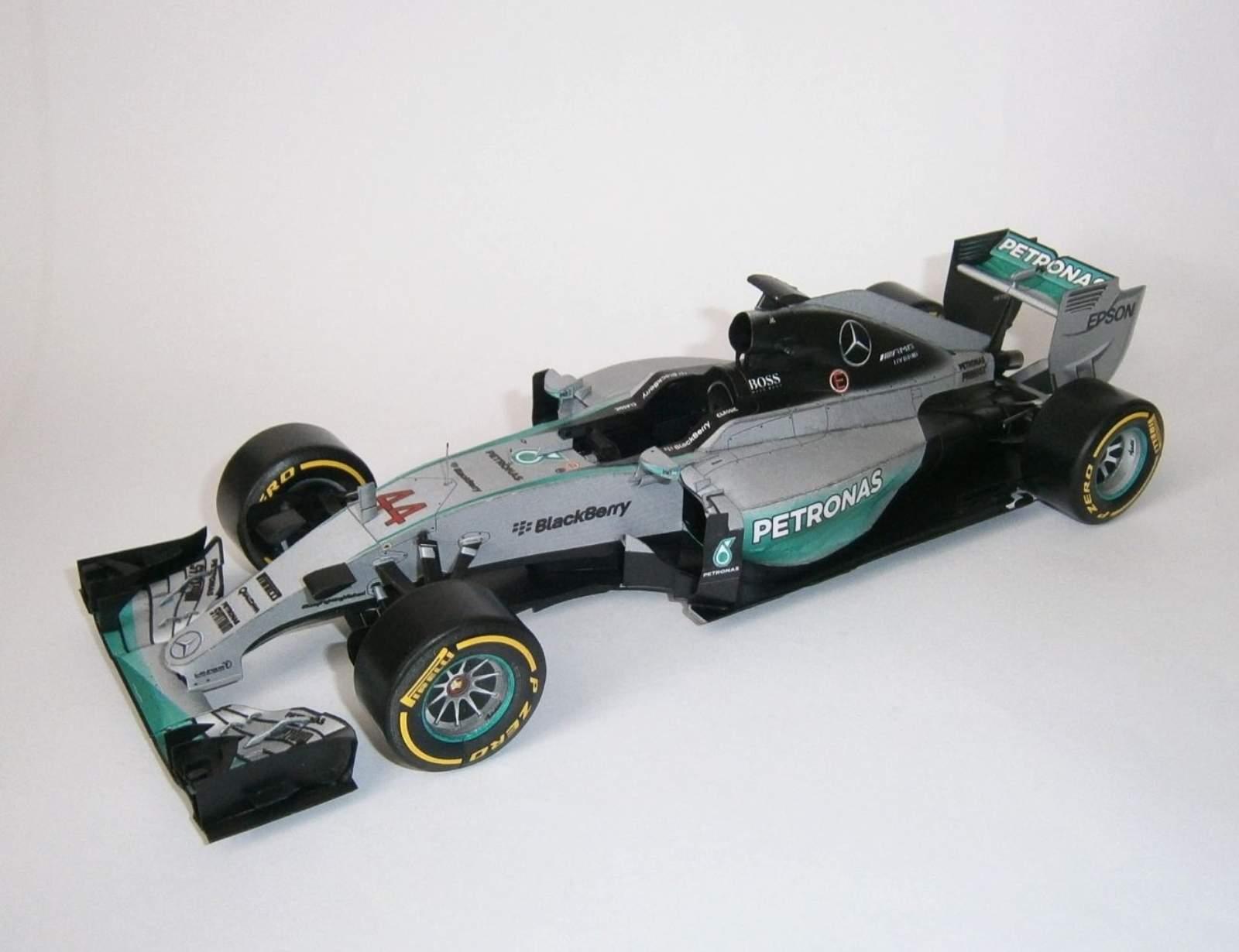 Mercedes W06- L.Hamilton, GP Austalian 2015