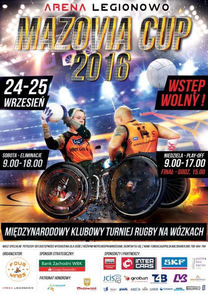 Plakát MAZOVIA CUP 2016