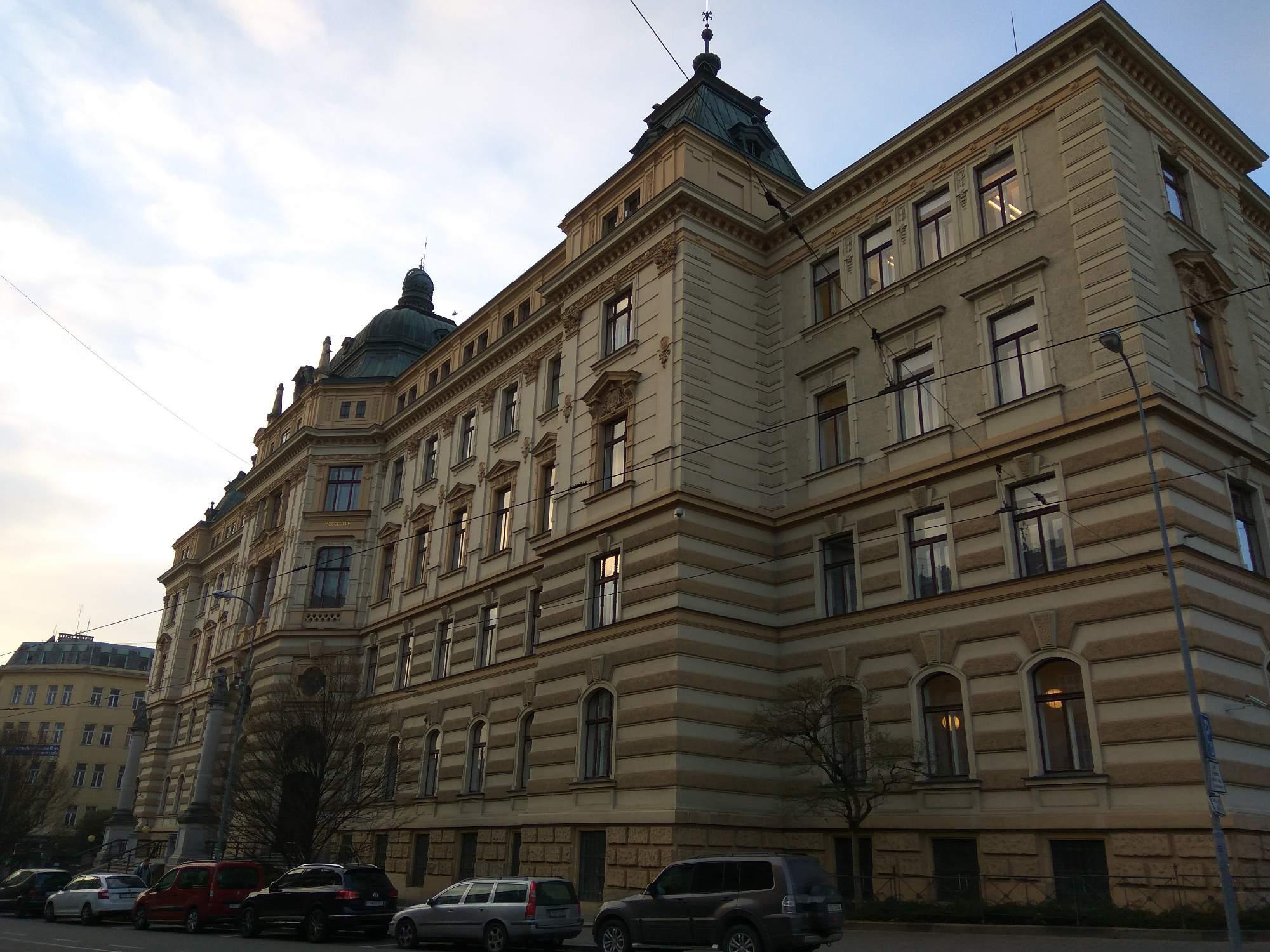 Budova Krajského soudu v Brně