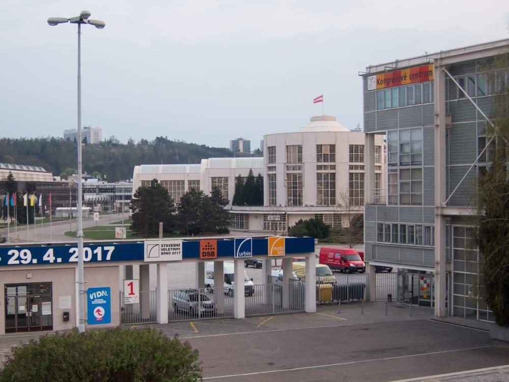 Cílem urbanistické soutěže je vytvořit návrh pro další rozvoj areálu Veletrhy Brno. Foto: Markéta Sulková