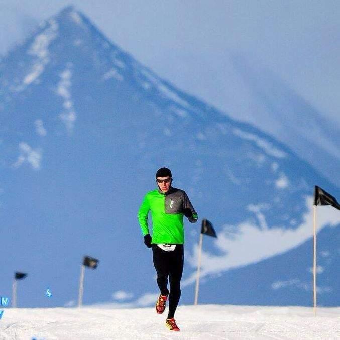 Petr Vabroušek závodí ve všech možných podmínkách počasí. Foto: archiv Petra Vabrouška