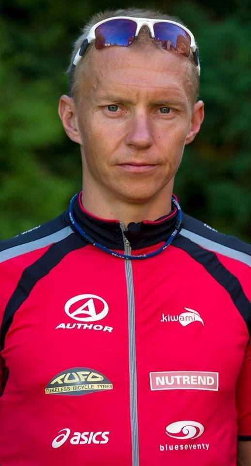 Třiačtyřicetiletý Petr Vabroušek je stále na sportovním vrcholu.  Foto: archiv Petra Vabrouška.
