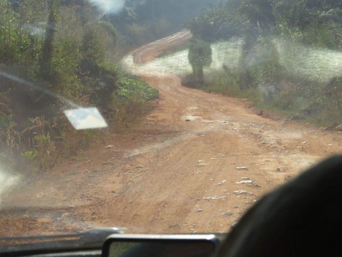 Cesta z Jasikanu do Hohoe