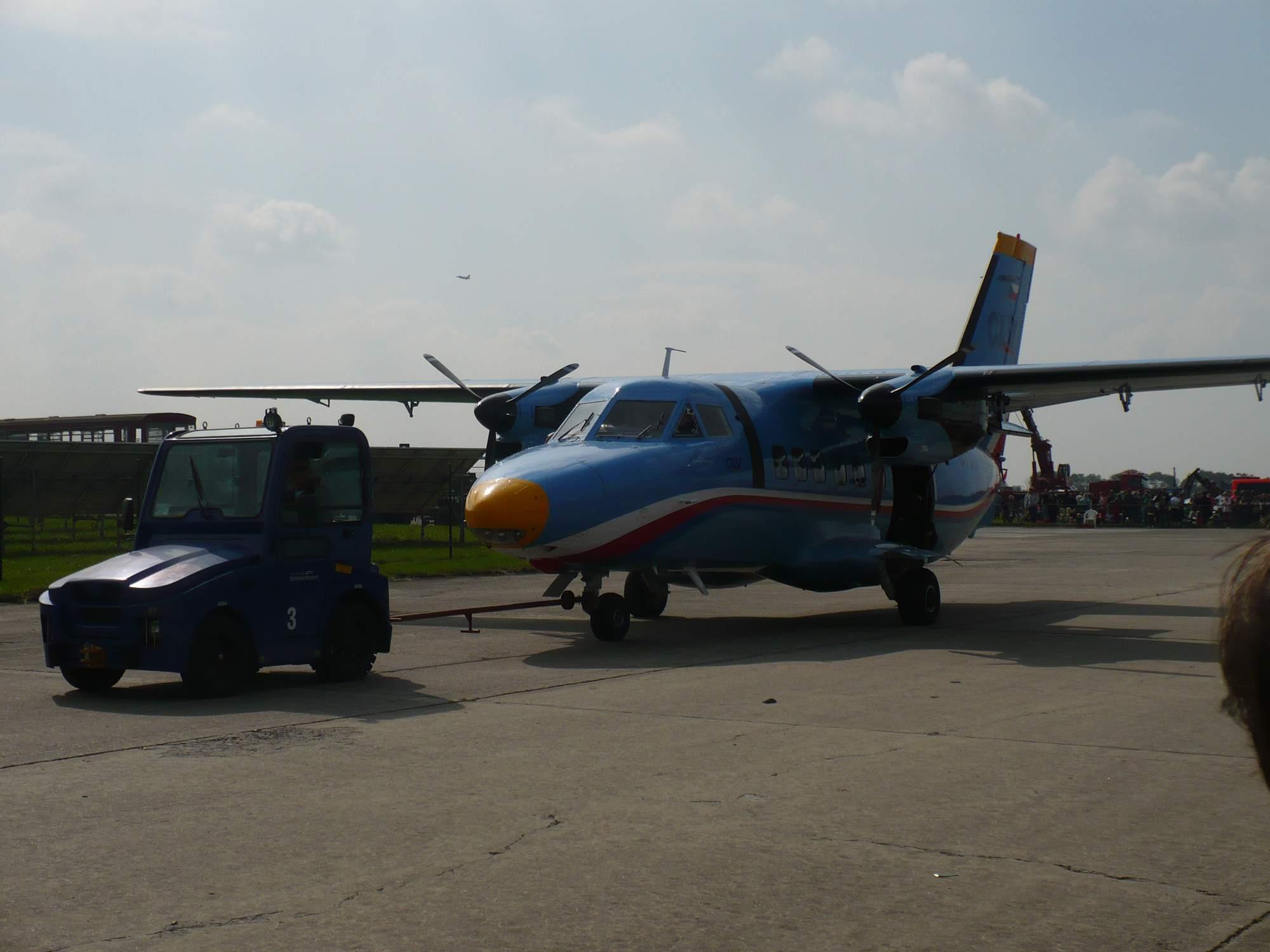Letadlo po přistání - ilustrační foto. Foto: Miroslav Hanus