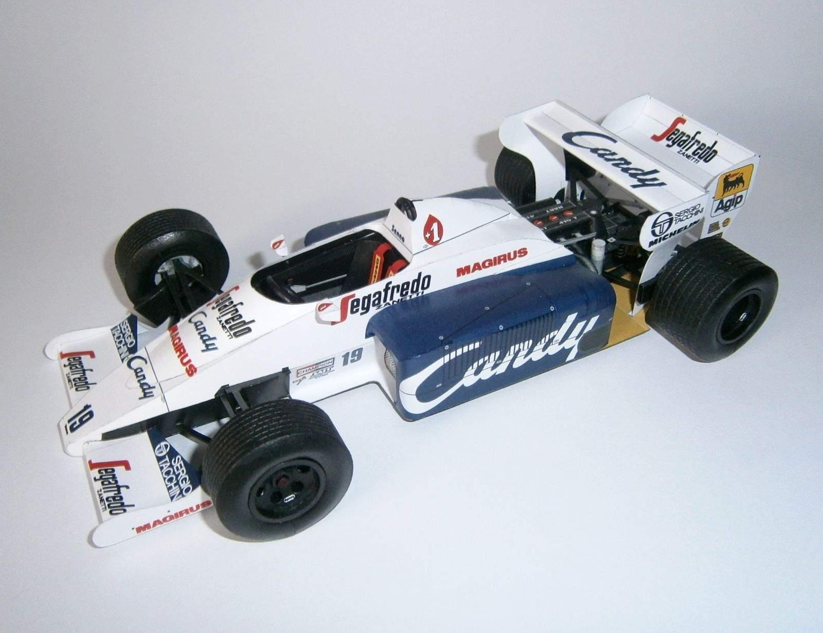Toleman TG184 - A.Senna, GP Monaco 1984
