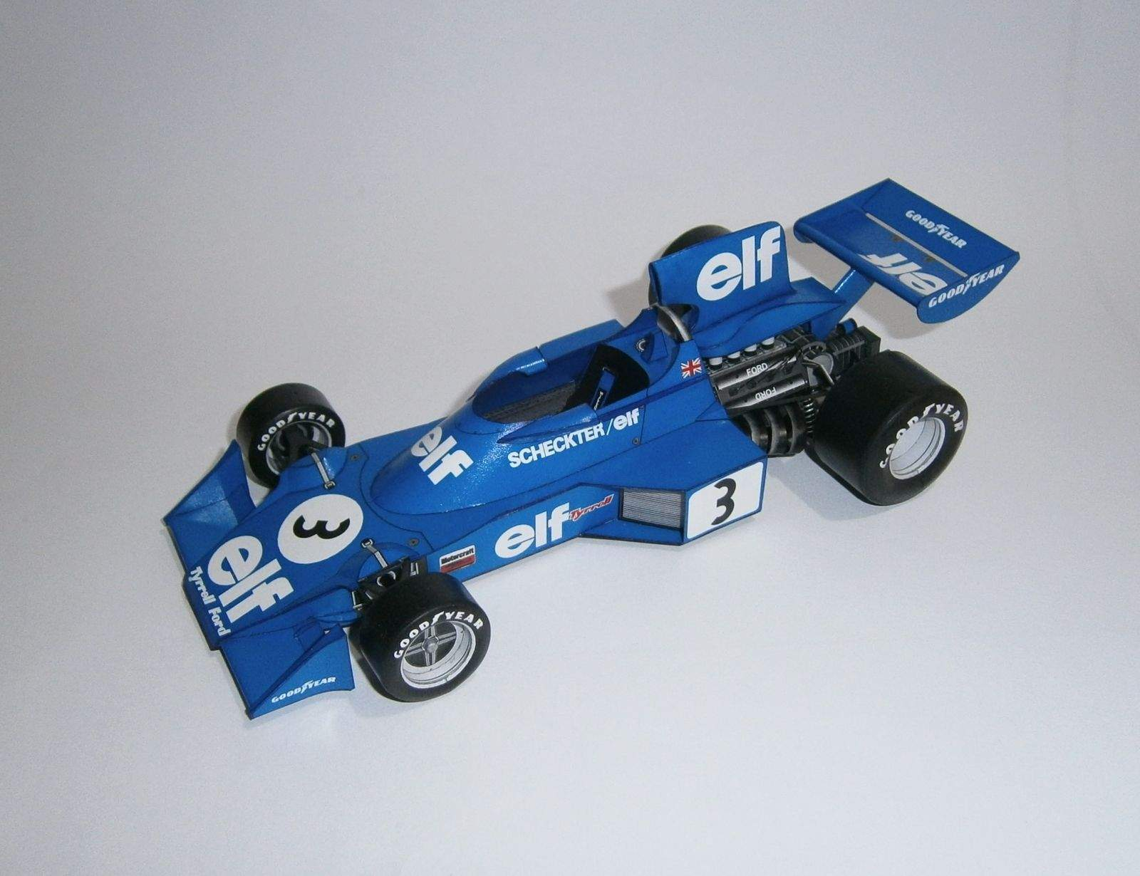 Tyrrell Ford 007 - J.Scheckter, GP Swedish 1974