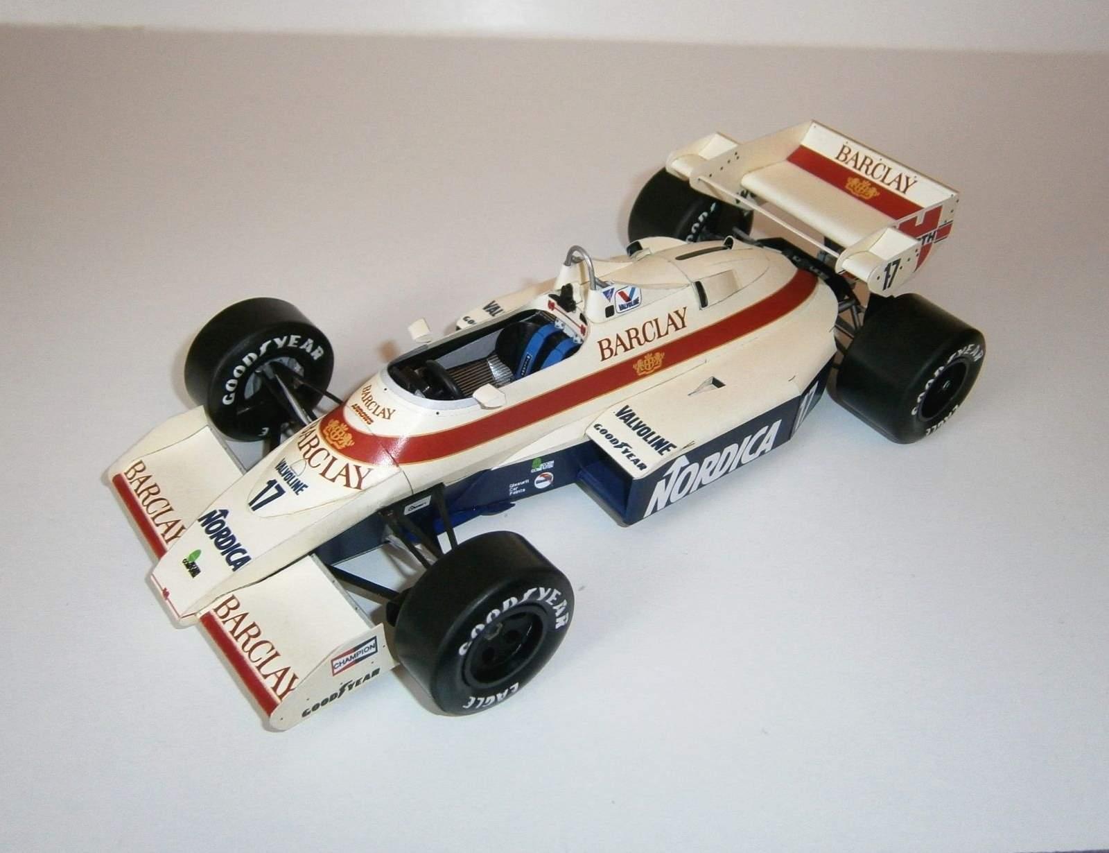 Arrows A6 Ford - M.Surer, GP Detroit 1984