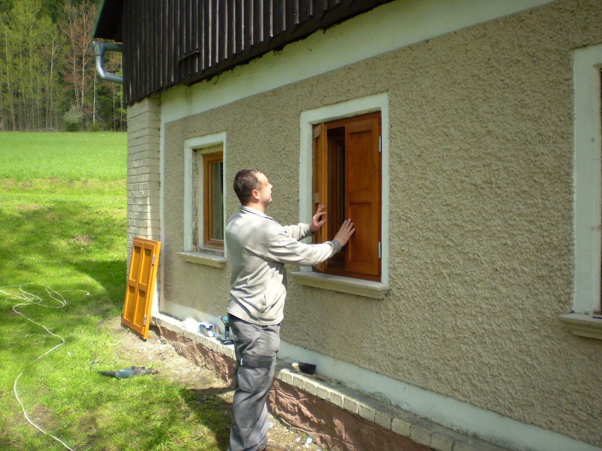 Jak vyrobit okenice