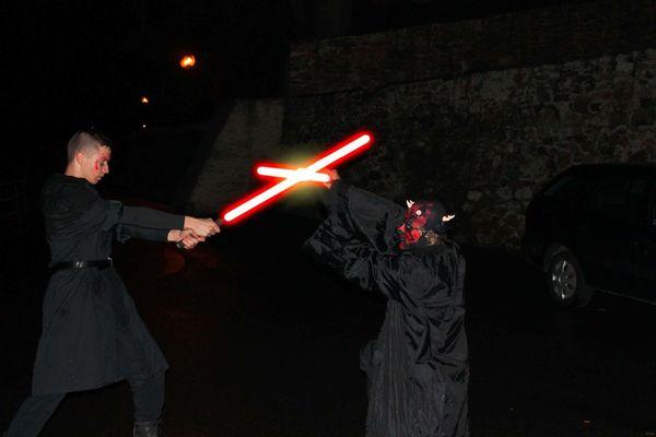 Setkání skautů na Otavě 2017 Star Wars (David+Jana)