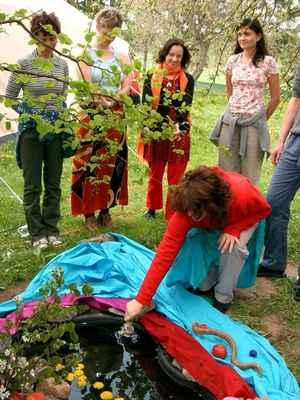 2004 Beltein Festival Bohyně Skalka - rituál Afrodíté