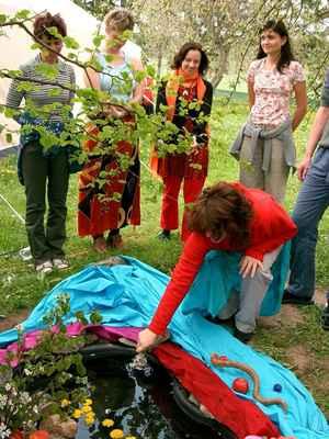 2004 Skalka - festival bohyně -rituál Afrodíté - co jsme to tenkrát spustily a co s námi potom Afrodíté prováděla, to bylo něco ;-)