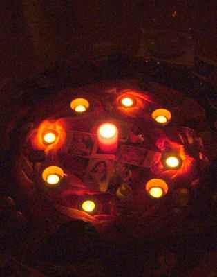 2010 ženská mysteria - oltář večer