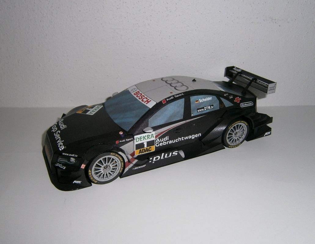 Audi A4 DTM 2009 R14 plus