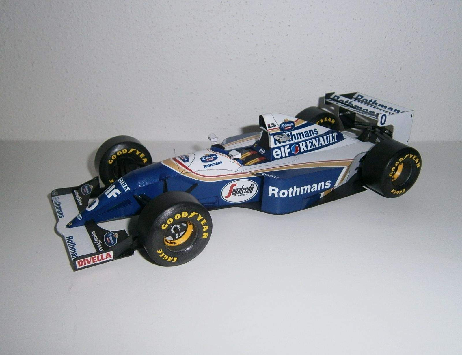 Williams FW16 - D.Hill, GP Pacific 1994