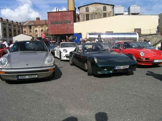 v dobré společnosti - Porsche sraz Liberec 2010
