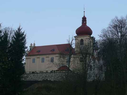 barokní kostel nejsvětější trojice...
