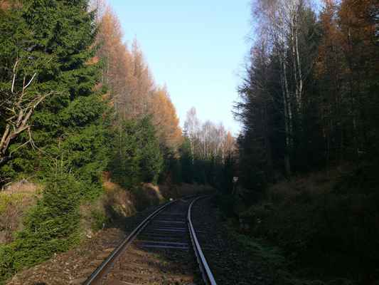 železniční trať z nového boru na jedlovou...