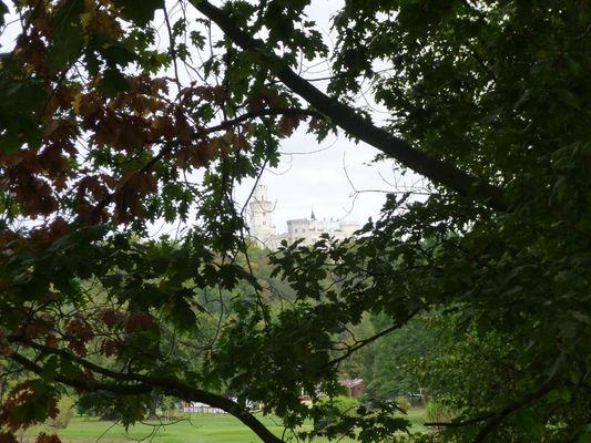 """Po delší době jsme se opět zúčastnili """"Nákoláckého"""" srazu, jehož základna ležela nedaleko tohoto zámku."""