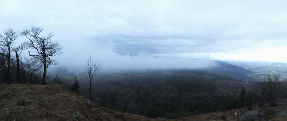 pokus o panorama z vyhlídky...