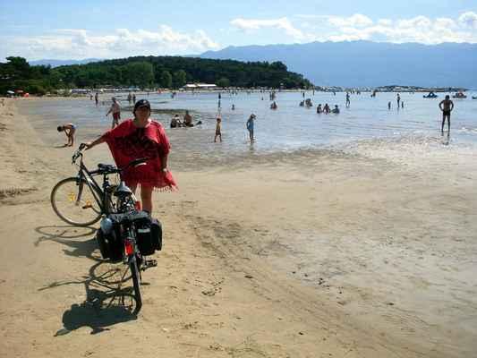 Ráb - Lopar - Rajska plaža (pouze pro mimina a úplné neplavce :-)