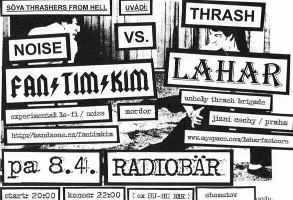 Noise vs. Thrash - Plakát