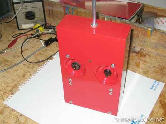 Vysílač Gama - upraven podle Modeláře č.12-1966