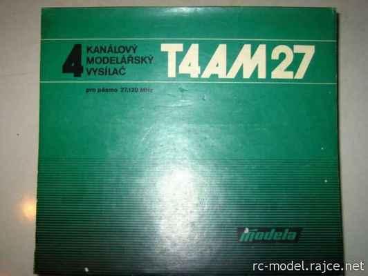 Obal vysílače Modela T4 AM27