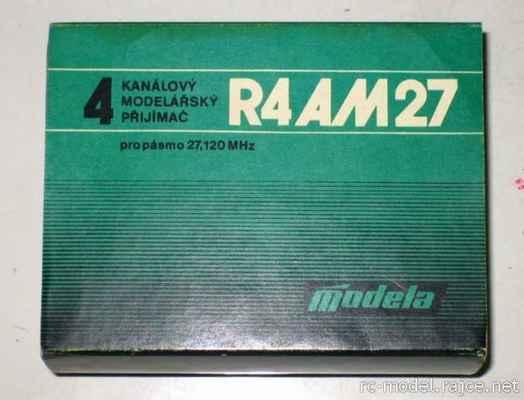 Obal přijímače RX Modela R4 AM27