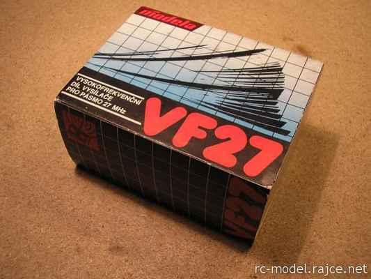 Takto se již tehdy prodával výměnný (!) VF modul pro vysílač Modela.