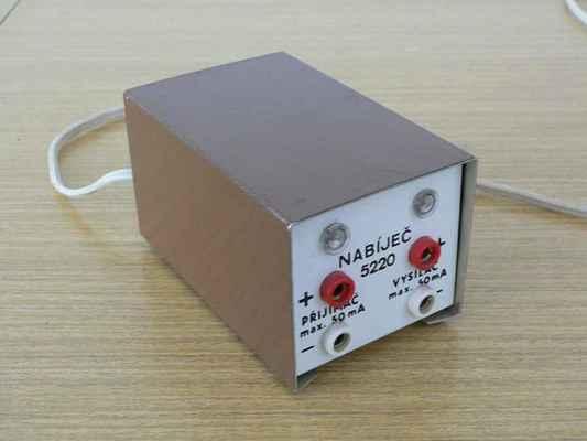 Nabíječ akumulátorových NiCd baterií - Modela.