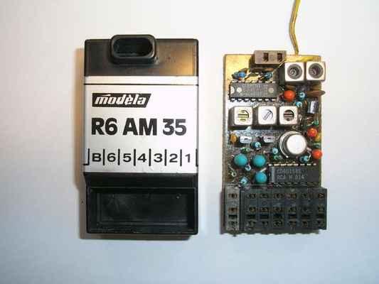 Přijímač Modela R6AM35 - provedení s IO SO42P na vstupu ...