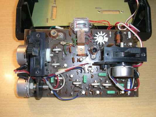 Deska elektroniky vysílače Modela Digi 2+1