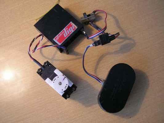 Palubní vybavení Modela Digi