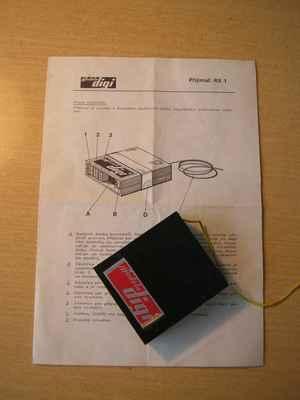 Přijímač Modela Digi RX 1 - s originálním návodem