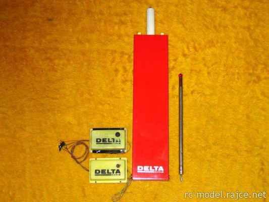 Delta - 1-kanálová RC souprava (1970)