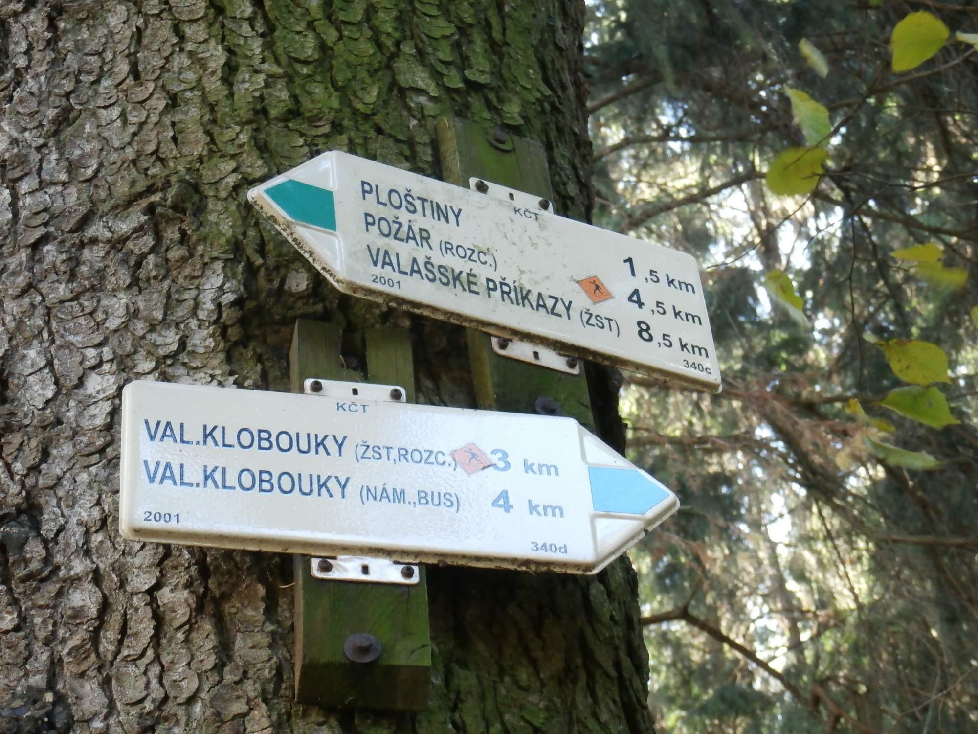 a994f87a532 Valašské Příkazy - Ploštiny - Královec - Valašské Klobouky (3 3 ...