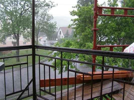 Nejsilnější déšť - 15:22 SELČ