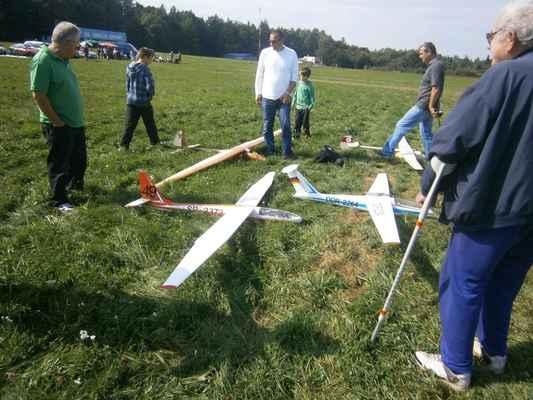 Tohle jsou větroně německých účastníků.
