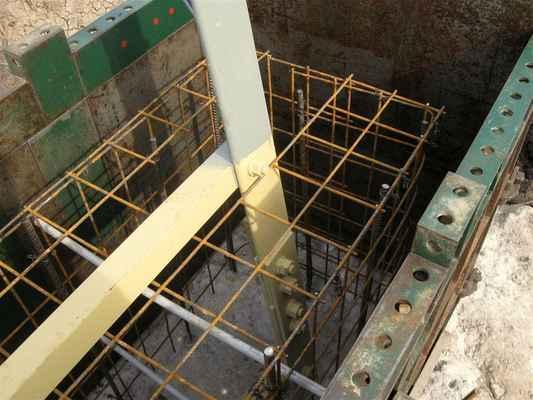 bednění připraveno na beton