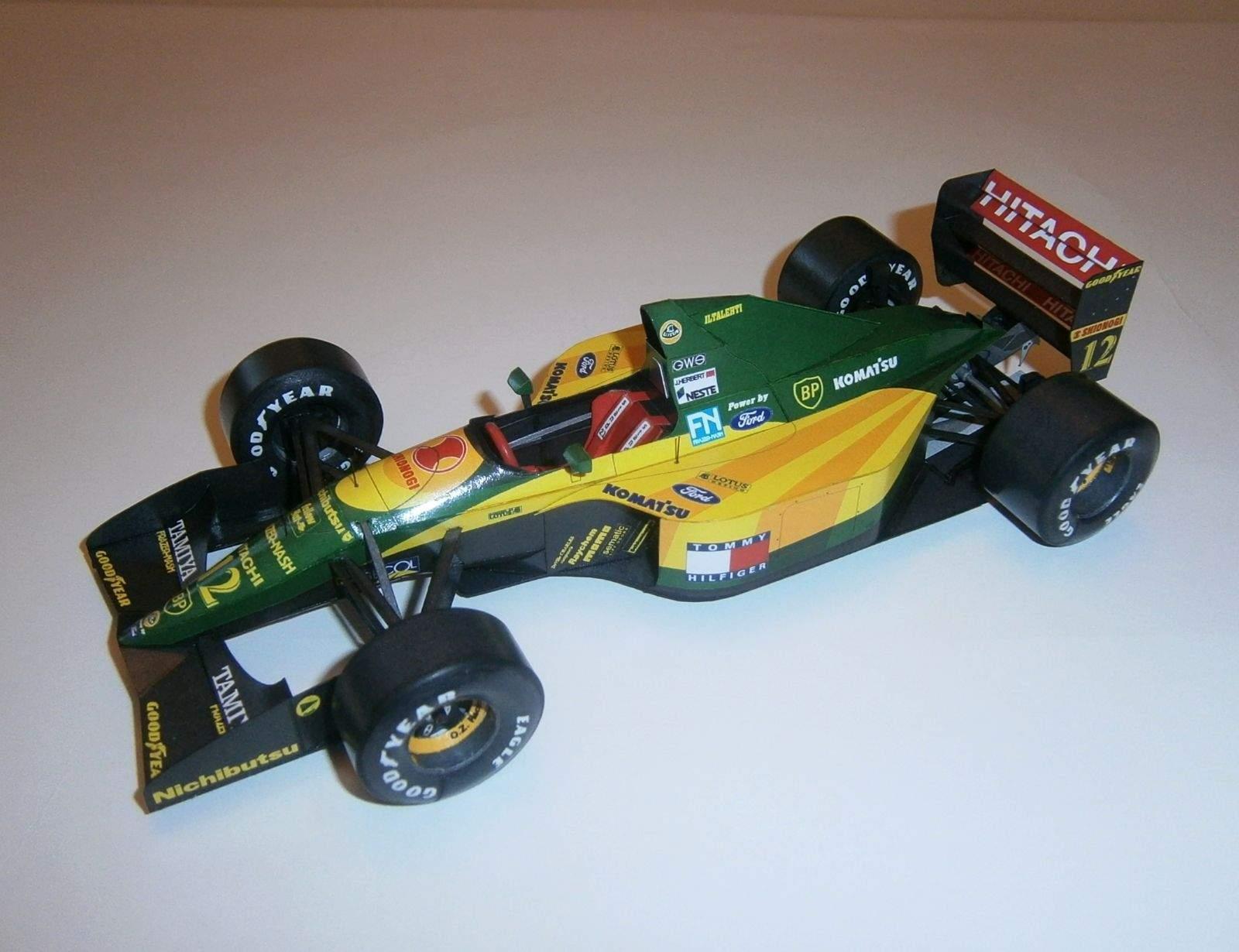 Lotus 107A - J.Herbert, GP Canada 1992