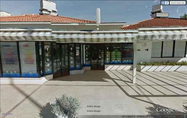 zelena laguna google street view